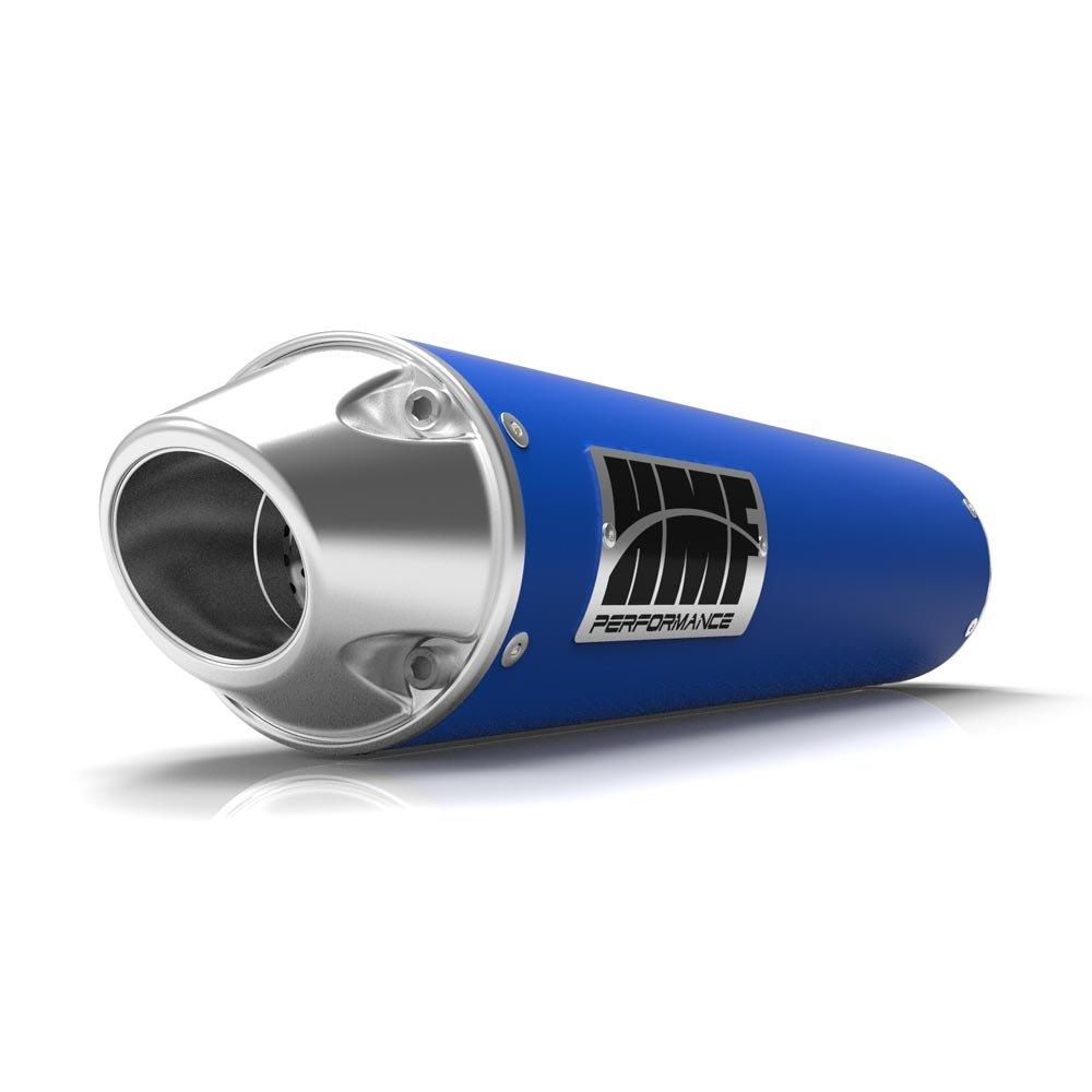 Kit básico para Jet, espuma filtro de aire y azul performance-series Slip On euro-polished de escape para Yamaha Raptor 125 2011 - 2014: Amazon.es: Coche y ...