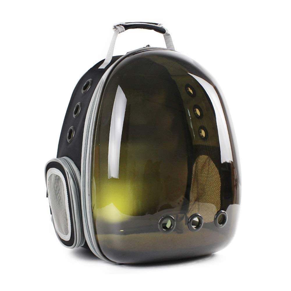 C Eroscat Cat Carrying Backpack,Space Capsule Outdoor Pet Backpack for Small Dog,Transparency Predection Waterproof Cat Holding Backpack (color   B)