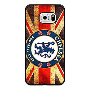 Cover Shell Chelsea FC Logo Phone Case Nice Graceful Chelsea Mark Pattern Case for Samsung Galaxy S6 Edge