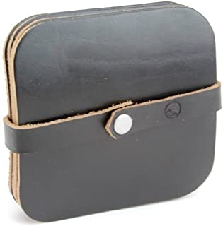 product image for Leather Coasters: Black