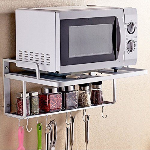 Spacecare Double Bracket Alumimum Microwave Oven Wall