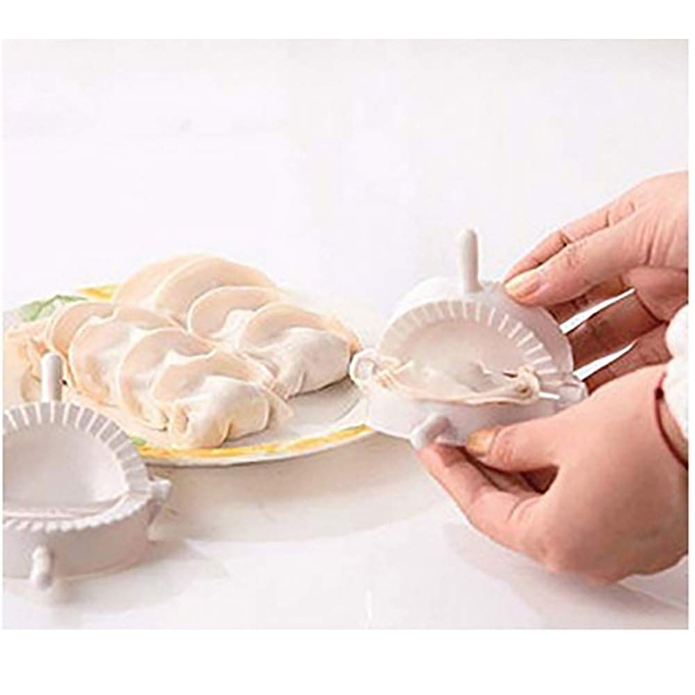 Amazon.com: Press Ravioli Dough Pastry Pie Dumpling Maker Gyoza Empanada Mold Mould Tool 3Pcs: Kitchen & Dining