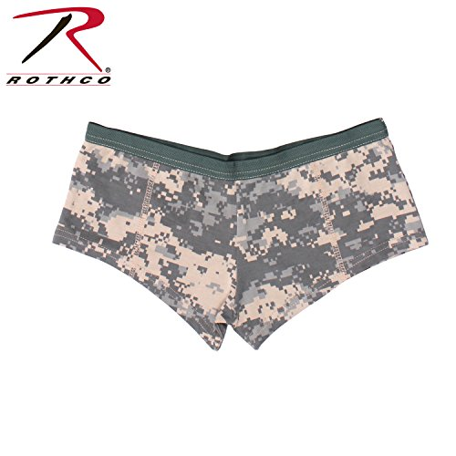 - Rothco Women's Booty Shorts, ACU Digital Camo, Small