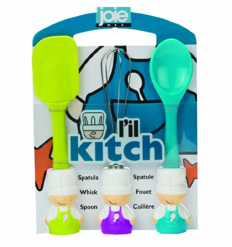 L'il Kitch Baking Tool Set - Blue by Joe