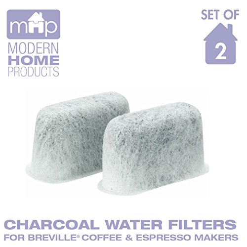 Charcoal Water Coffee & Espresso Filter Cartridges, Replaces Breville BWF100 Charcoal Water Filters- Set of 2 Top Offers