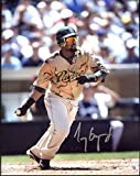 Tony Gwynn, Jr. Autographed /Original Signed 8x10 (Silver Sharpie) Color Action-photo Showing Him w/ the San Diego Padres