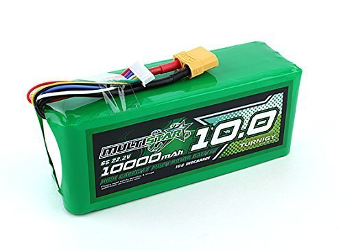 Multistar High Capacity 6S 10000mAh Multi-Rotor Lipo Pack
