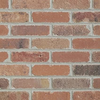 Colonial Collection Dixie Clay Thin Brick Case Of 50 7 3 Sf