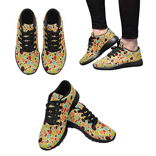Multi Women's Sneakers Trainers 1 Cross InterestPrint Running fzqx6ZWwvw