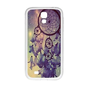 JIANADA Sunrise Dreamcatcher Feather Mayan Aztec Tribal Phone Case for Samsung Galaxy S4 Case