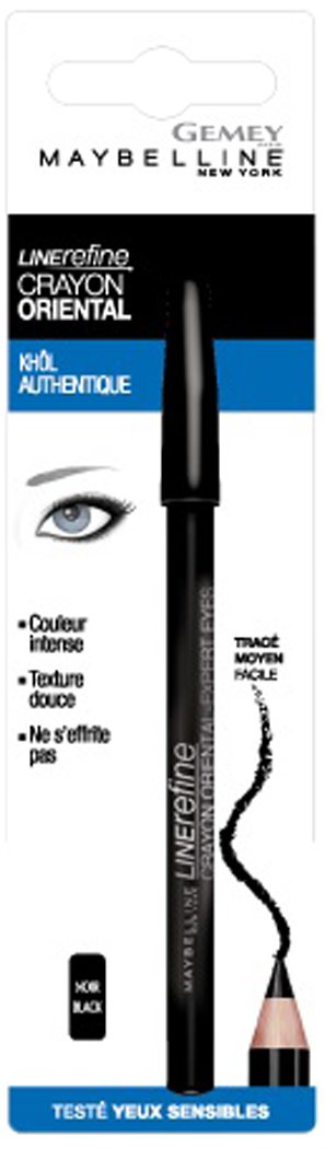 Maybelline New York 3017563241808–Bleistift Oriental–Liner Kajalstift–Schwarz Gemey Maybelline