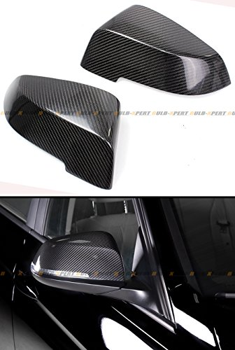 Cuztom Tuning Fits for 2013-16 BMW F10 5 Series & F12 F13 6 Series LCI Direct Replacement Carbon Fiber Mirror Covers Cap
