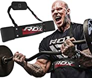 RDX Arm Curl Blaster Biceps Isolator Bomber - Double Riveted with Adjustable Strap Muscle Builder - Great for