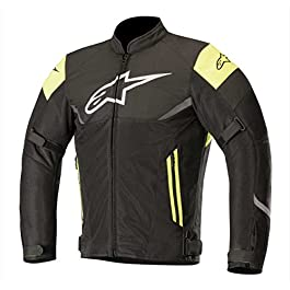 Alpinestars 2980 Axel Air Jacket (Black and Yellow, XXXL)