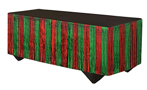 Forum Novelties 76190 Party Supplies Tinsel Fringe Table