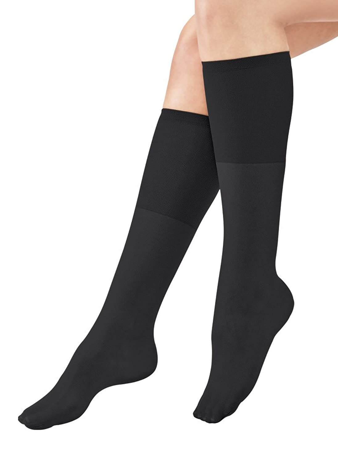 Top AmeriMark Women's Non-Run Support Knee-Highs free shipping
