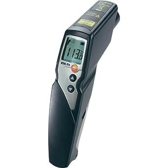 Testo 830-T4 - Termómetro por infrarrojos con indicador láser de 2 haces (óptica