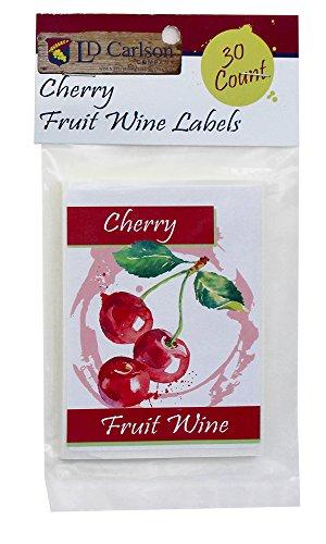 Cherry Fruit Wine Labels - Labels Fruit Wine