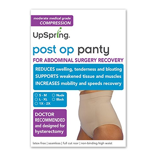 Post Op Panty High Waist  Compression Only  No Silicone   L Xl  Nude