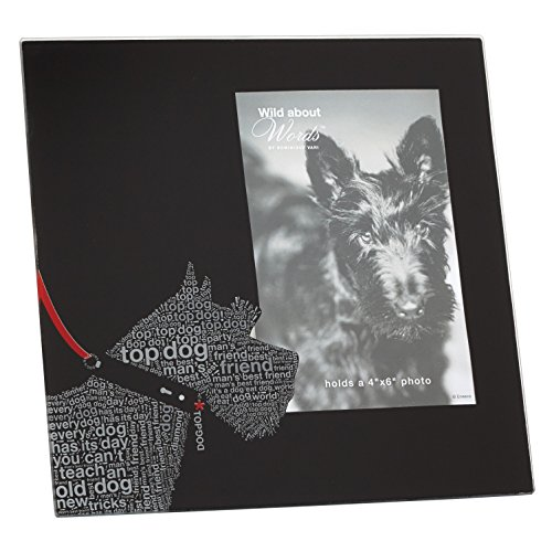 Enesco Wild About Words Terrier Picture Frame, (Best Enesco Aunt Picture Frames)