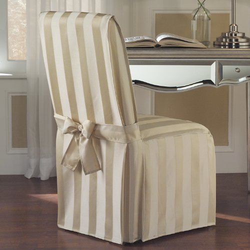 United Curtain Madison Dining Room Chair Cover, 19