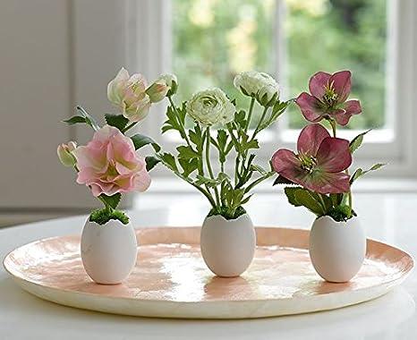 Decorazioni Pasquali Da Tavola : Bloom due set primavera uova tavolo pasqua centrotavola casa
