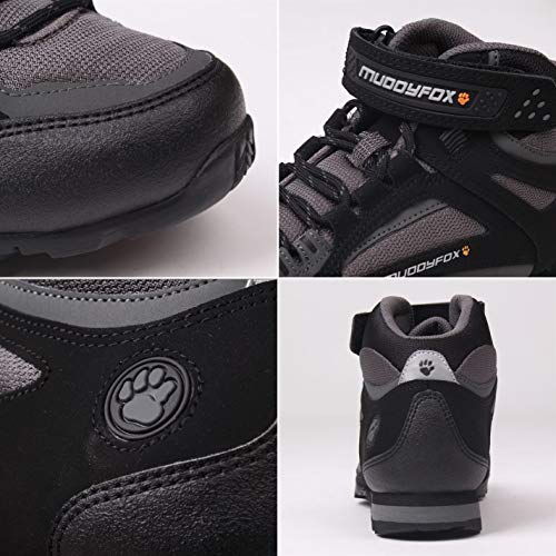 Noirs Cyclisme Tour Noir Official Hommes Baskets Chaussures Mid Muddyfox charbon 100 x7RRq6O