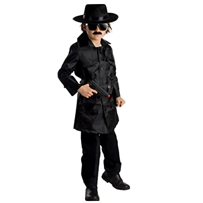 Boys Spy Agent Costume By Dress Up America: Toys & Games