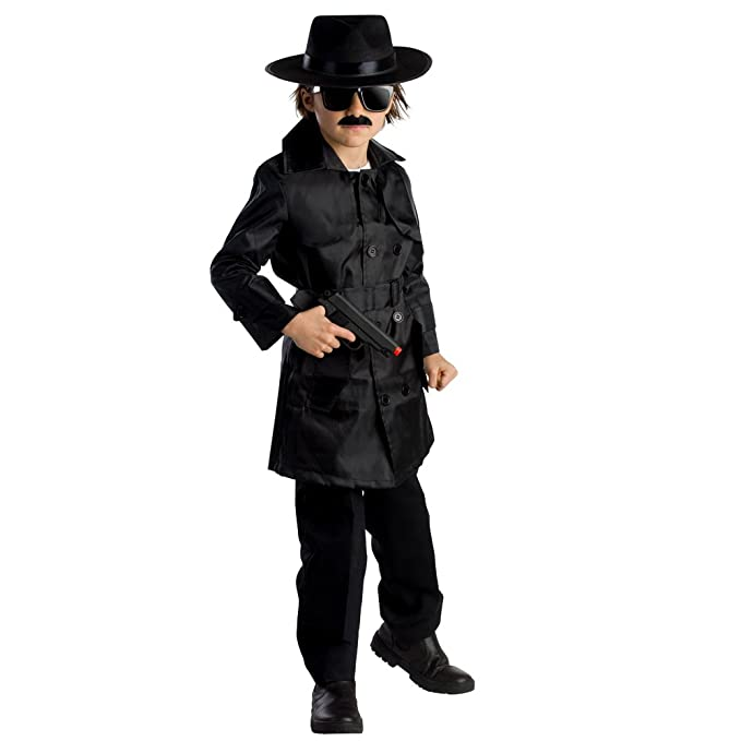 6e5f8bcc24 Amazon.com  Boys Spy Agent Costume By Dress Up America  Toys   Games