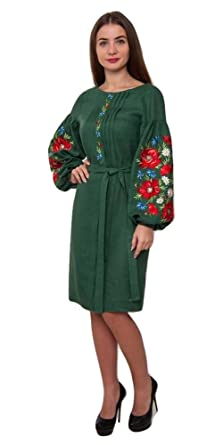 0ac2d5e4cfc Vyshyvanka Modern Designed Women s Ukrainian National Dress with Real  Embroidery. (XXL-XXXL)