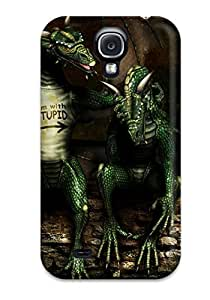 EdZjAUR6431aLMXJ Faddish I'm With Stupid Case Cover For Galaxy S4