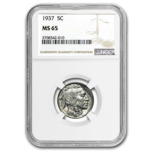 1937 Buffalo Nickel MS-65 NGC Nickel MS-65 NGC