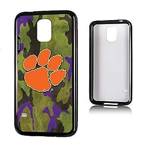 Clemson Tigers Galaxy S5 Bumper Case Camo NCAA