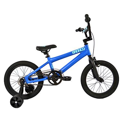 "SE Bicycles Bronco BMX Bicycle, Matte Blue, 16"""
