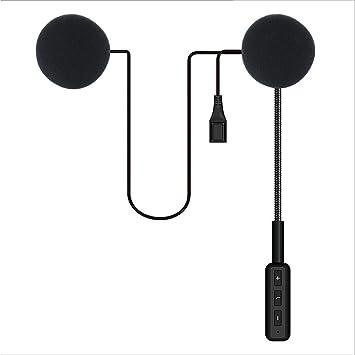 Amazon.es: Alian Auriculares Inalámbricos con Bluetooth para Casco de Motocicleta.