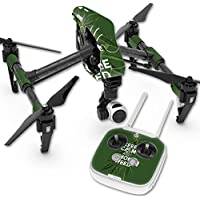 Skin For DJI Inspire 1 Quadcopter Drone – Smoke Weed | MightySkins Protective, Durable, and Unique Vinyl Decal wrap cover | Easy To Apply, Remove, and Change Styles | Made in the USA