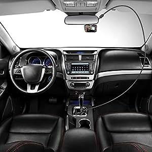 Cable de carga para cámara de salpicadero de coche con mini interfaces USB, magnético, 5 V, 1,5 A, 3,5 m