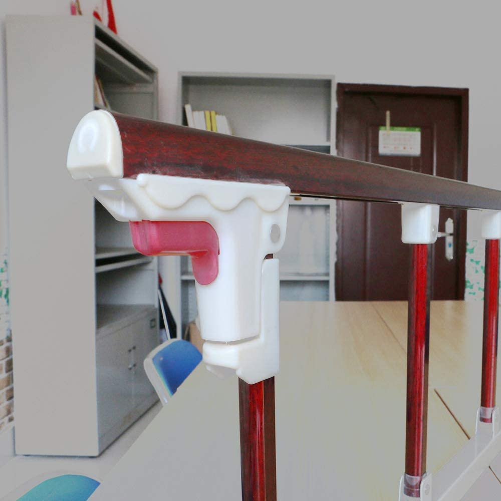 YIKEY- Barandillas de la cama Protector Lateral de riel de Cama Plegable para Ancianos, barandas anticaída, Cama para niños Resistente a los Golpes, Valla de barandilla, Bisel de la cabecera del dor: