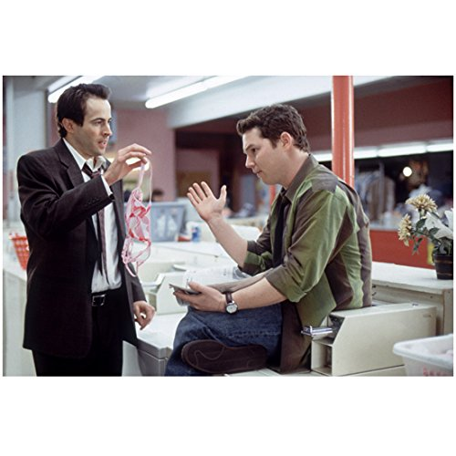 A Guy Thing Jason Lee as Paul Holding Thong and Shawn Hatosy as Jim at Laundromat 8 x 10 inch photo