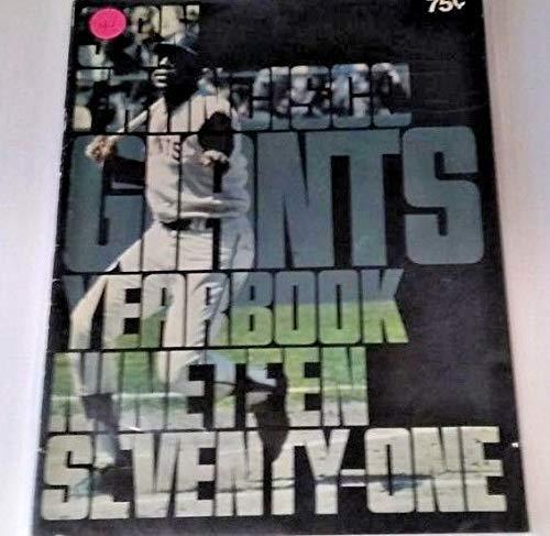 1971 San Francisco Giants Vintage Yearbook