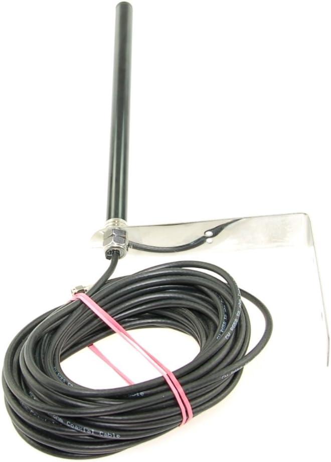 Alda PQ Antena para el Montaje Pared de 3G, UMTS, WiFi, Bluetooth, AMPS, gsm, DCS, ISM, PCS Redes con Conector SMA/M y Cable de 10m, 2,2 dBi de ...