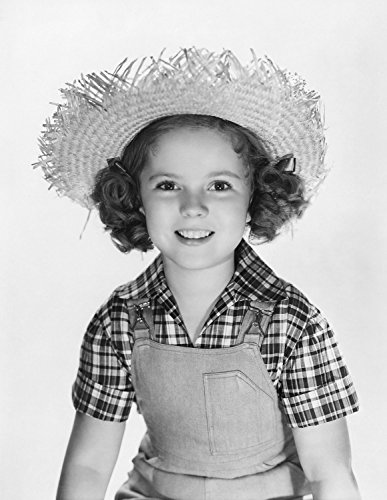 (Metal Tin Sign 8x10 From A Photo Or Poster Shirley Temple Rebecca Of Sunnybrook Farm With A Miror Finish)