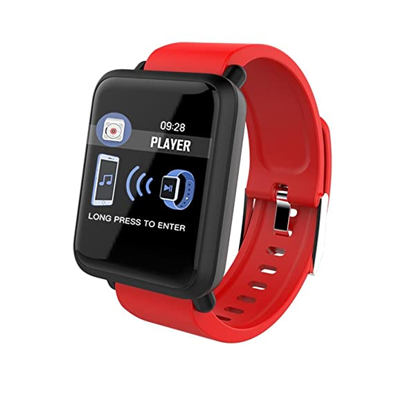 Reloj Inteligente Deportivo 1.3 Pantalla Táctil Podómetro Fitness Tracker Pulsómetro Monitor De Sueño Cámara Bluetooth GPS Seguimiento De Rutas ...