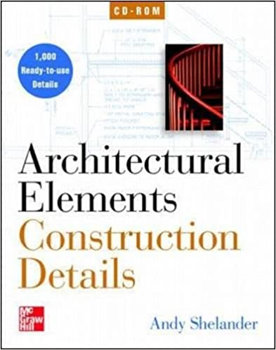 architectural elements construction details on cd rom single user