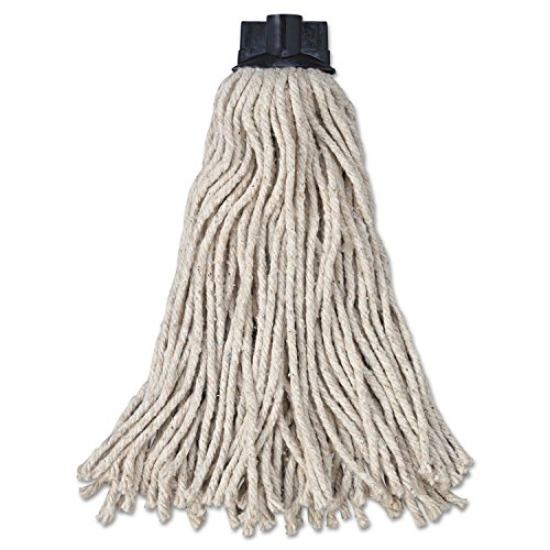 Rubbermaid Commercial RCP G043-00 Replacement Mop Head for Mop/Handle Combo, Cotton (Pack of 12) by Rubbermaid Commercial (Image #3)