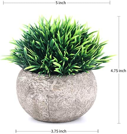 home, kitchen, home décor, artificial plants, flowers, artificial shrubs, topiaries,  artificial topiaries 9 image The Bloom Times 2 Pcs Fake Plants for promotion