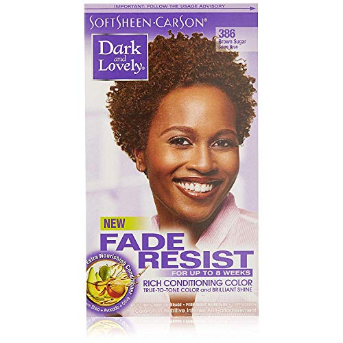 Dark and Lovely Fade Resistant Rich Conditioning Color, No.386, Brown Sugar, 1 ea (Pack of 4)