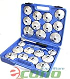 23pc Aluminum Alloy Cup Type Oil Filter Cap
