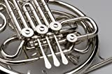 Agility Winds F/Bb Double French Horn Professional String Linkage Complete Nickel Silver Kruspe Wrap with Case & Mouthpiece 5-Year Warranty