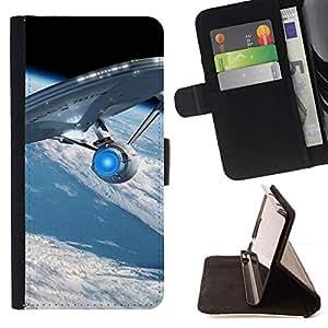 Momo Phone Case / Flip Funda de Cuero Case Cover - Astronave - LG Nexus 5 D820 D821